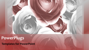 PowerPoint Template - An abstract wedding concept